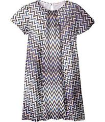 Missoni Lurex Zigzag Dress (Big Kids)