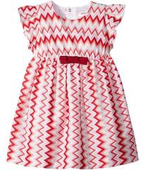 Missoni Jersey Zigzag Dress (Infant)