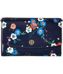 Tory Burch Parker Printed Chain Wallet