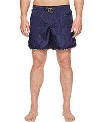 Missoni Mare Plain Nylon Swim Trunks