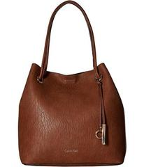 Calvin Klein Unlined Solid PVC Tote