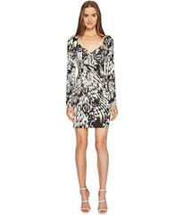 Just Cavalli Wings of Dove Printed Jersey Long Sle