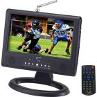 """9"""" Portable Digital LCD TV AC/DC Compatible wi"""