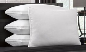 DownSupply Overstuffed Gel Fiber Pillows (1, 2, or