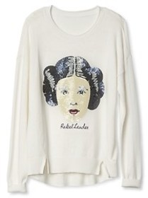 Gap &#124 Star Wars&#153 sequin graphic sweater