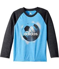 adidas Logo Sport Ball Tee (Toddler/Little Kids)