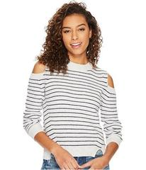 Lucky Brand Cold Shoulder Sweatshirt