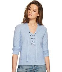 Lucky Brand Lace-Up Sweater