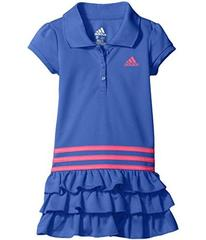 adidas Ruffle Polo Dress (Toddler/Little Kids)