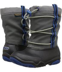 Crocs Kids Swiftwater Waterproof Boot (Toddler/Lit