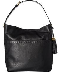 Cole Haan Ivy Pic Stitch Square Bucket Hobo