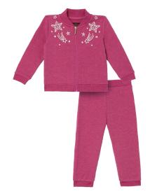Juicy Couture French Terry Embroidered Stars Set f
