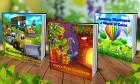 """Up to 72% Off a 8"""" x 8"""" Personalized Kids Book"""