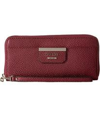 GUESS Bobbi Small Leather Goods Large Zip Around