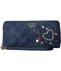 GUESS Darin Small Leather Goods Large Zip Around