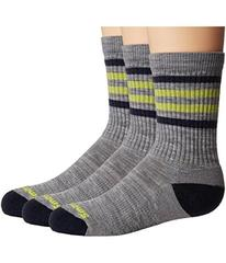 Smartwool Striped Hike Light Crew 3-Pack (Toddler/