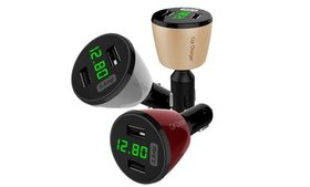 iSunnao Lighting Fast Dual USB Car Charger 360 Rot