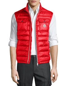 Moncler Achilles Quilted Puffer Vest