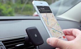 LAX Magnetic Air Vent Car Smartphone and GPS Mount