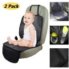 2-Pack Infant Baby Car Seat Protector Mat Cushion