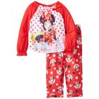 Disney Little Girls' Minnie Mouse Toddler Paja