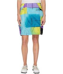 Jamie Sadock Glow Print Crunchy Fabric Side Zip an