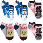 Disney (6 Pack) Toddler Little Kids Socks No Show
