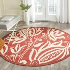 Safavieh Andros Red/ Natural Indoor/ Outdoor Rug (