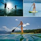Clearance!Adjustable Stand Up Paddle with Portable
