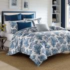 Cape Coral Blue Twin Duvet Set