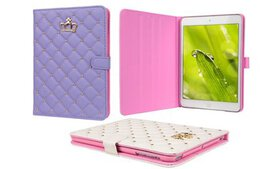 Full-Cover Synthetic Leather Case for iPad, iPad M