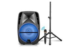 Technical Pro PQ12 Bluetooth Speaker with Micropho