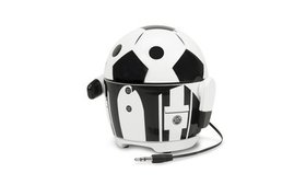 Cute Soccer Robot Rechargeable Portable Speaker wi