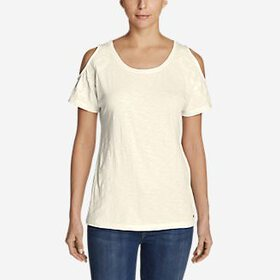 Women's Mountain Meadow Cold Shoulder T-Shirt