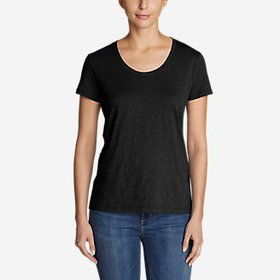 Women's Legend Wash Slub Short-Sleeve Scoop-Ne