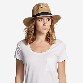 Women's Panama Packable Straw Hat
