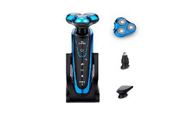 Men's Washable Rechargeable Electric Shaver