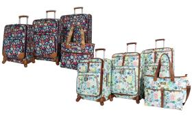 Lily Bloom Expandable Spinner Luggage Set (3- or 4