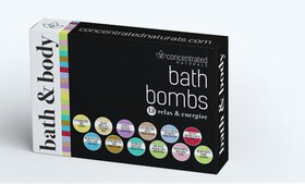 Concentrated Naturals Bath Bomb Gift Set (6-, or 1