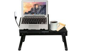 iMounTEK Laptop Table Stand with Built-In Cooling