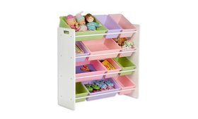 Honey-Can-Do SRT-01603 Kids Storage Organizer- 12