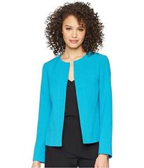 Tahari by ASL Crepe Open Front Jacket
