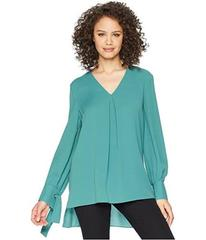 Tahari by ASL Long Sleeve Tunic with Tie Cuff