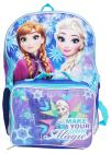 Girls Disney Frozen Large Backpack & Detachable In