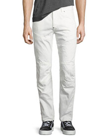 G-Star 5620 Elwood 3D Tapered & Distressed Jeans,