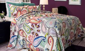 Lavish Home Printed Pattern Quilt Set (2- or 3-Pie
