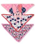 Disney Minnie Mouse Baby Girls' 3-Pack Bandana