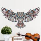 Large Owl Wall Decal Wall Sticker Mural Decor Remo