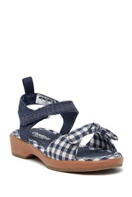 OshKosh Punzel Gingham Sandal (Toddler & Little Ki