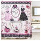 Glamour Girl Printed Shower Curtain (70\
